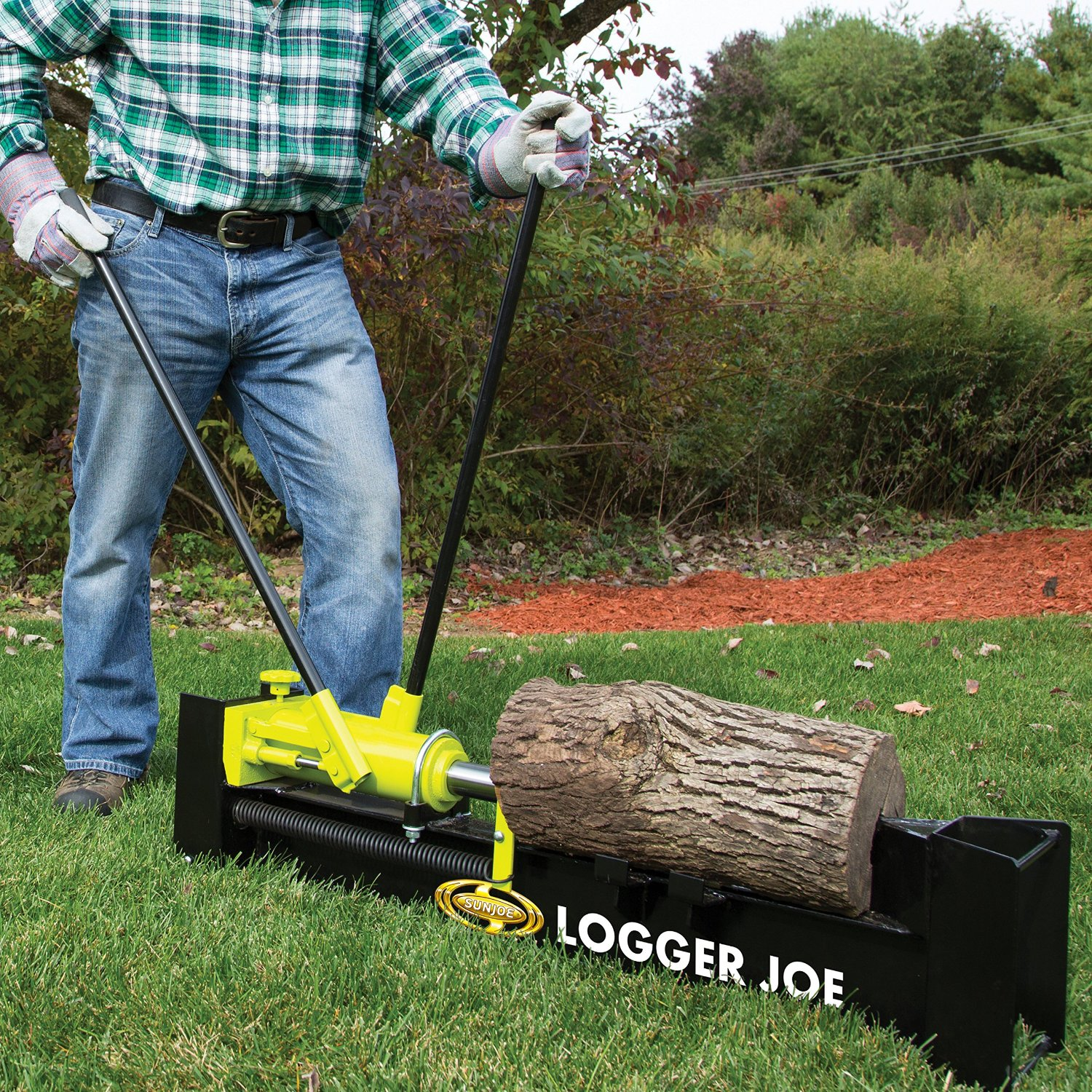 manual hydraulic log splitter