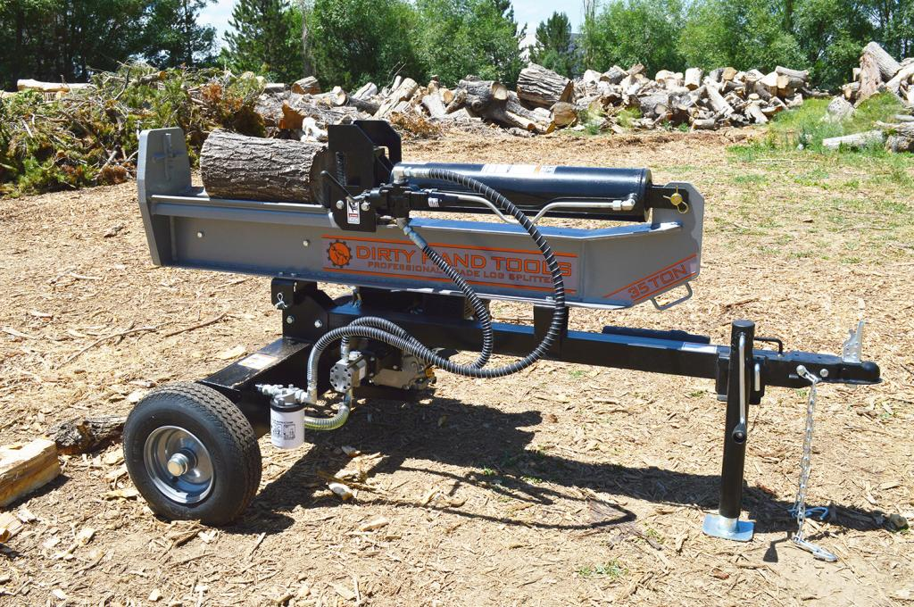 dht 22 ton log splitter