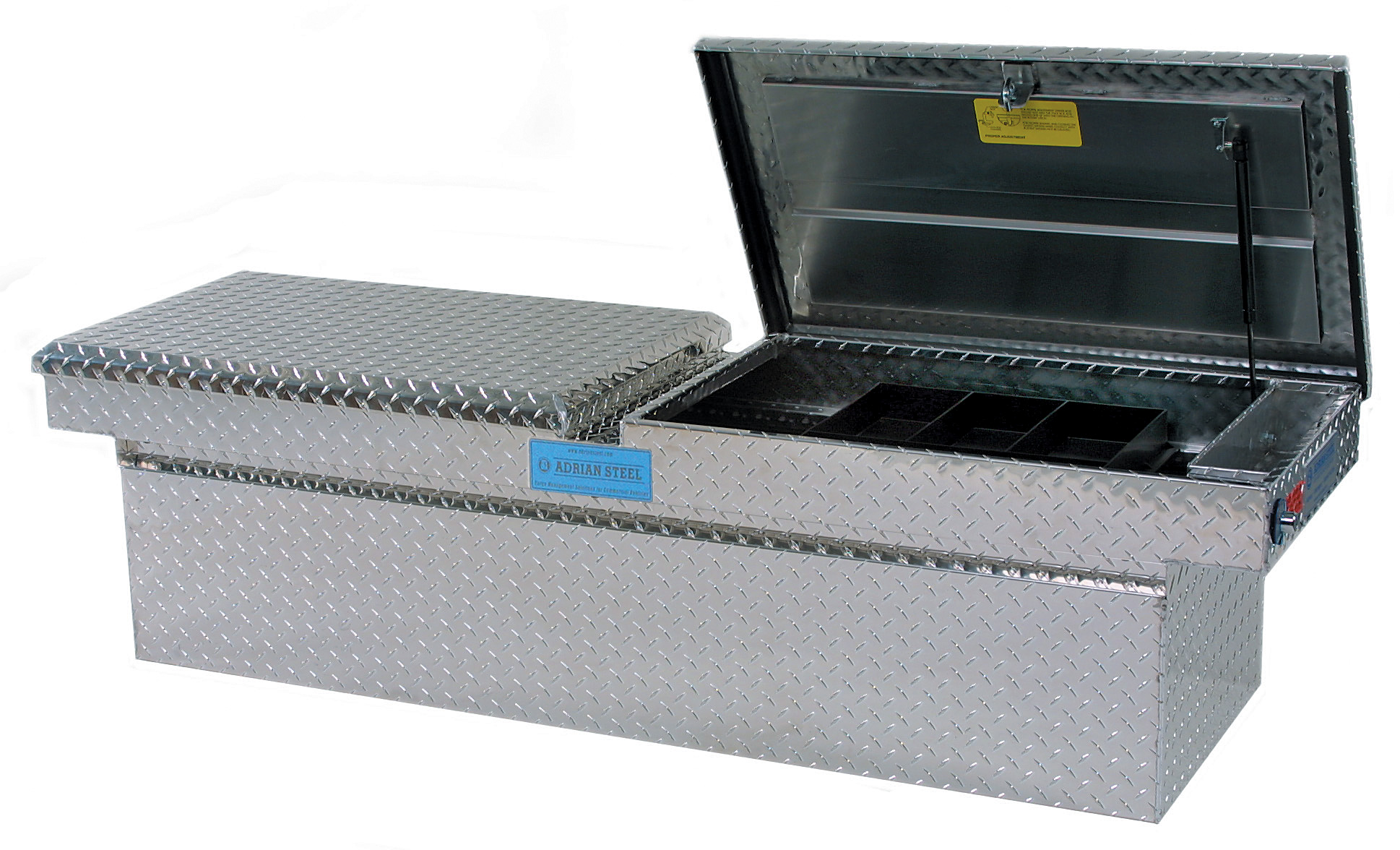 double lid truck tool box