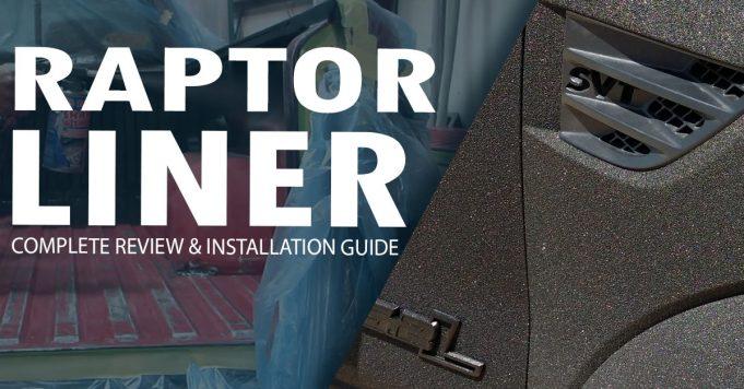 raptor liner header