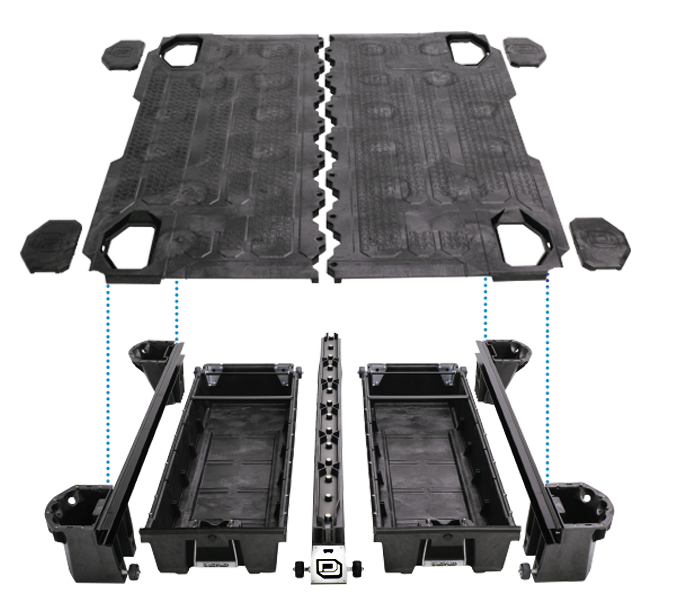 decked truck bed organizer reviews