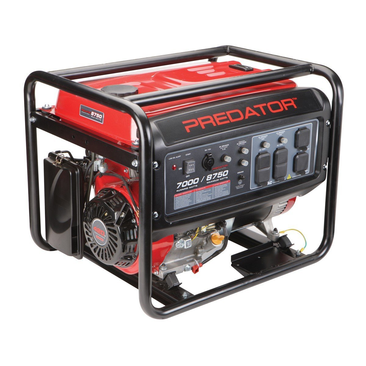 Predator Generator Reviews What You Need To Know Before Buying Wiring Well Pump 7000 Watt Model