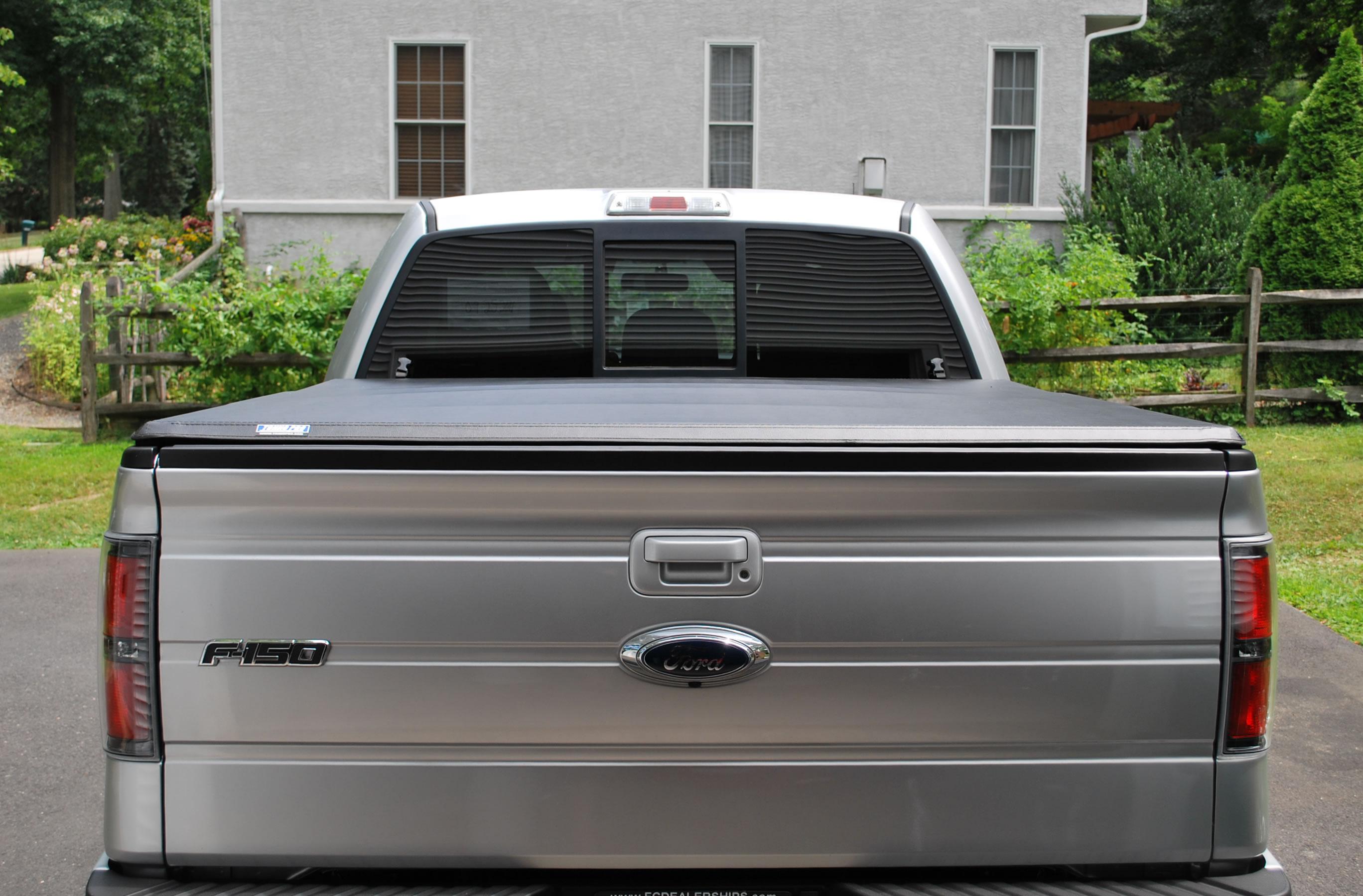 sierra cover covers tonneau tonnomax gmc tri low design profile bed soft sleek trifold fold