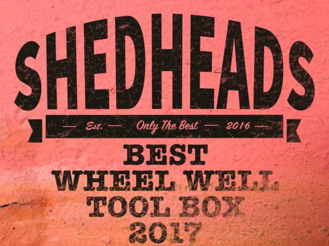 wheel well tool box