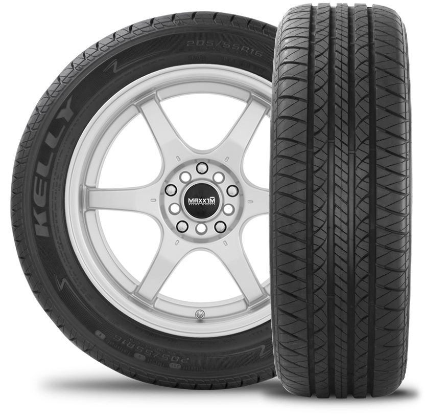 tire front and side view