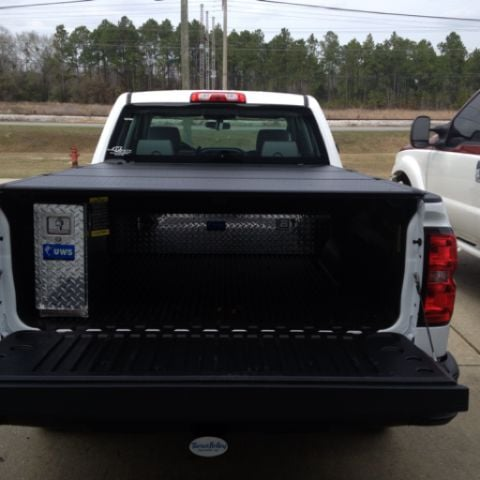 truck bed wheel well tool box