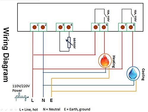 wiring diagram for electronic relay