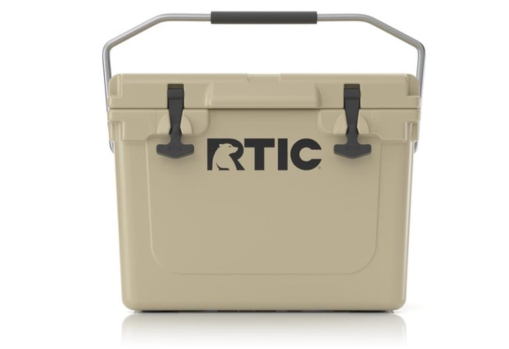 rtic 45 cooler (tan)