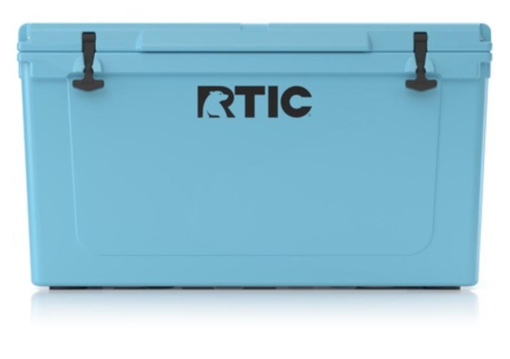 rtic 65 cooler (blue)