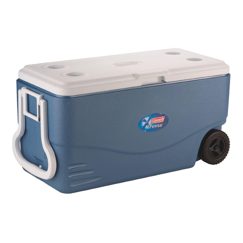 coleman 100qt wheeled cooler