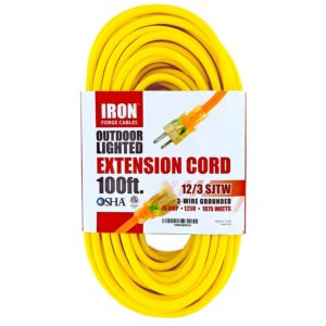 us wire 100ft outdoor extension cord