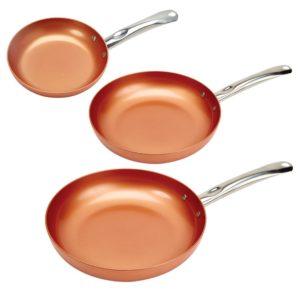 12u2033 red copper pan
