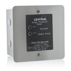 whole house surge protectors how to choose the right model circuit panel surge protector leviton 51120 1 panel protector, 120 240 volt