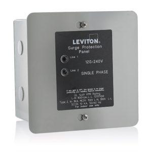 Leviton 51120-1 Panel mounted surge suppressor