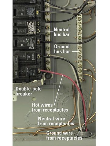 "hook up double pole breaker A ""double-pole"" circuit breaker is clipped into both 120 buses at the same time hire to install the new circuit will help you decide if the panel is up to the task."