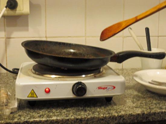 warped pan