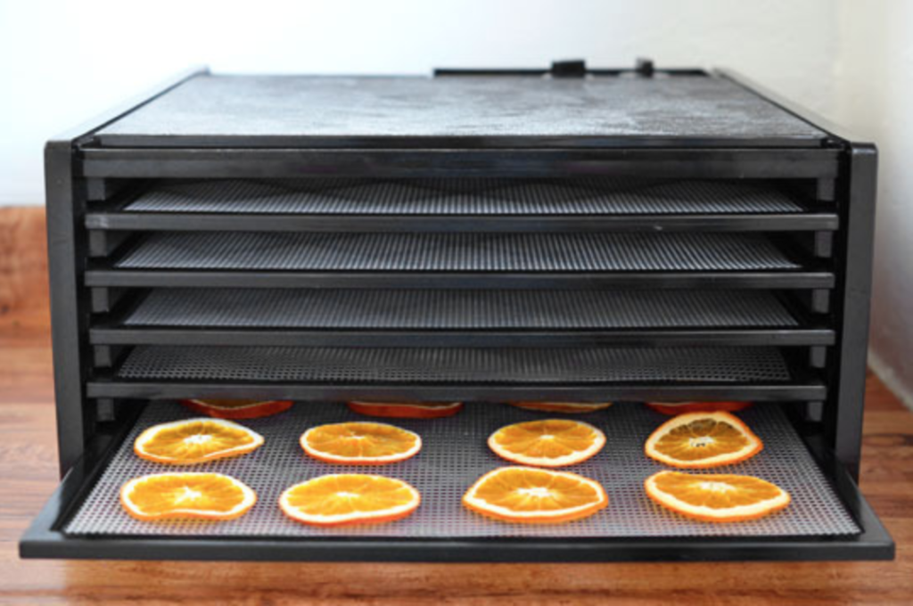 Front View of the Excalibur Dehydrator