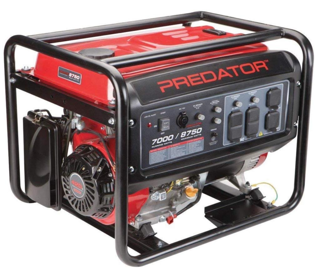 predator 8750 generator