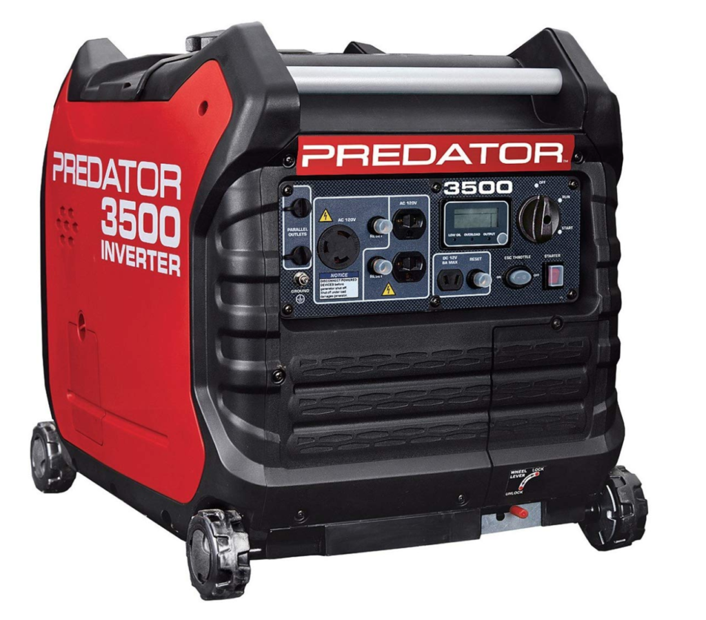 predator 3500 inverter generator