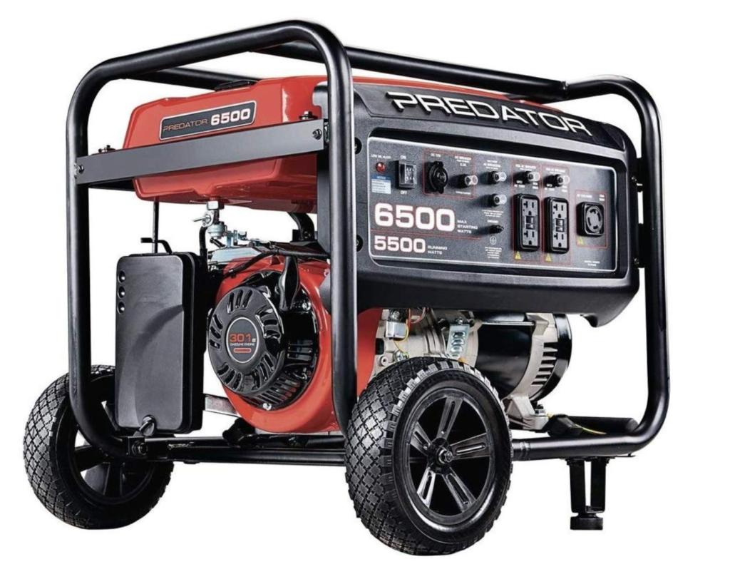 predator 6500 generator
