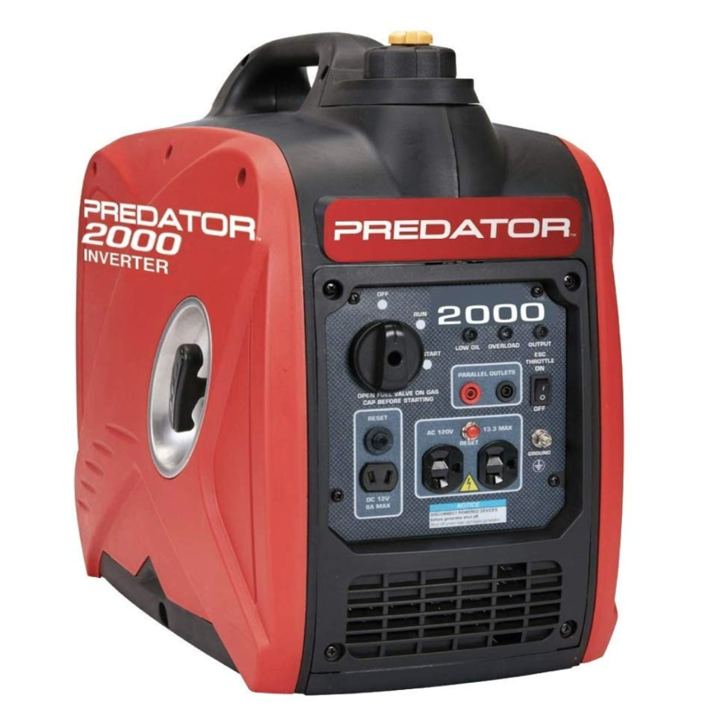 predator 2000 inverter generator
