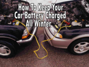 how to keep your car battery charged in the winter
