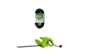 Greenworks hedge trimmer With Extention Cord