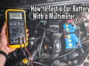 Test Car Battery with Multimeter