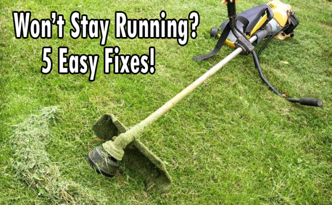 weed eater won't stay running