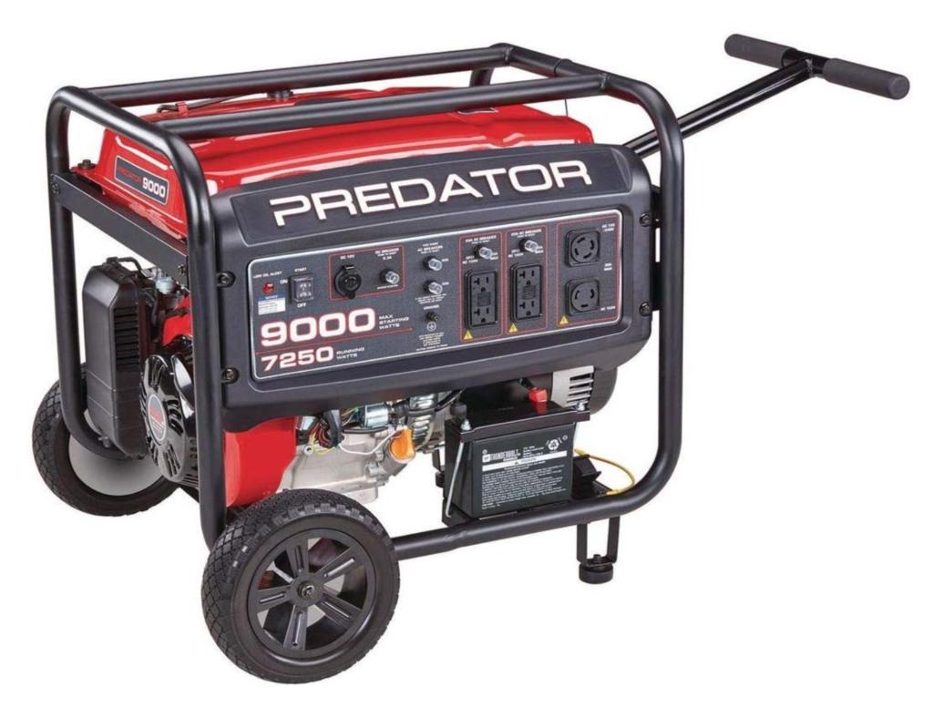 predator 9000 generator